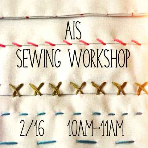 AIS Sewing Workshop