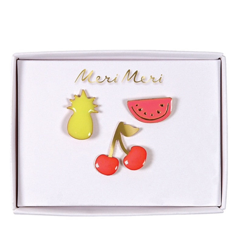 Fruit Enamel Pins
