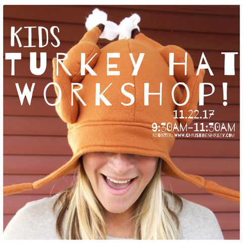 Kids Turkey Hat Workshop!