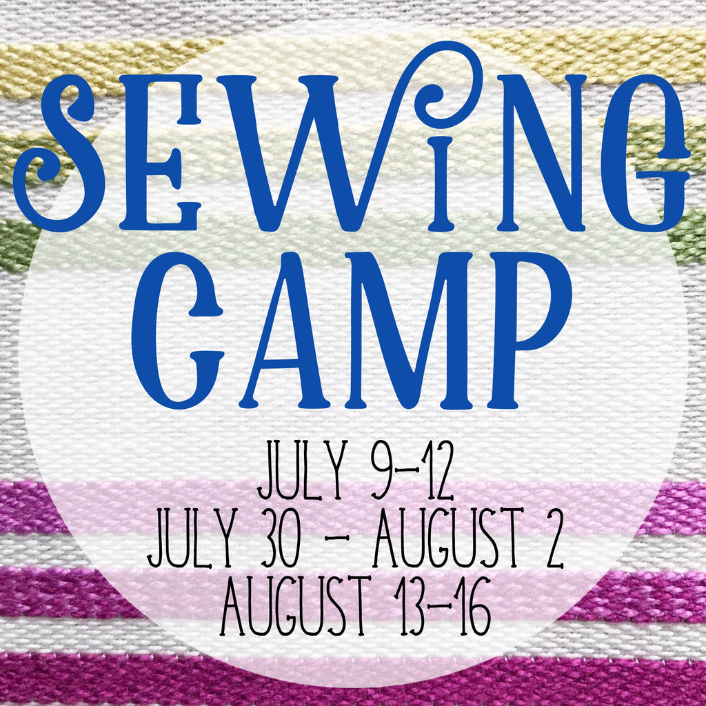 Sewing Camp - 4 Day Camp