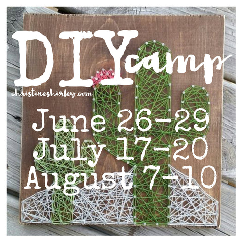 Christine Shirley DIY Camp