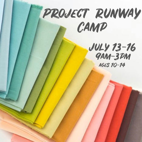 Project Runway Camp