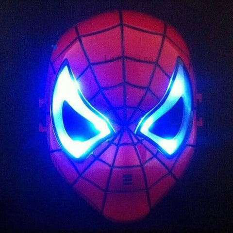 Spiderman maske til halloween - LEDtrend.no