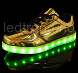 Zapatos con LED Oro - LEDtrend.no