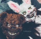 Killer bear halloween maske - LEDtrend.no