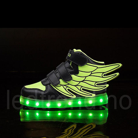 "Dragonfly ""green flash"" LED barnesko - LEDtrend.no"