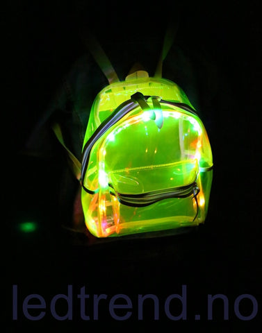 "LED-ryggsekken ""LED-turtle"" - LEDtrend.no"