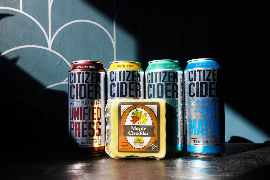 Cheese & Cider Pairing with Our Friends at Citizen Cider! April 15th 6:30-8:00PM