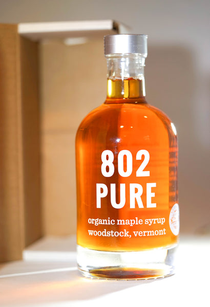 802 Vermont Organic Grade A Maple Syrup