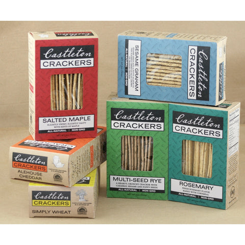 Castleton Crackers Variety Package