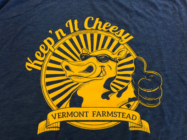 "T Shirt 2018 Mac & Cheese Challenge Tee ""Keep'n It Cheesy"""