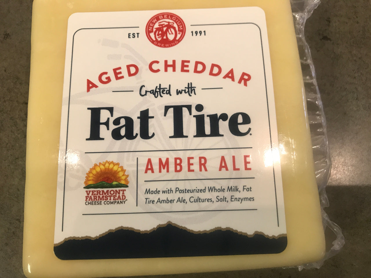 Fat Tire Alehouse Cheddar