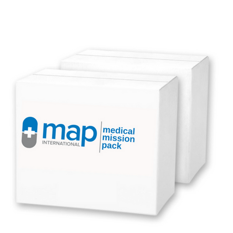 What's in MAP International's MEDICAL MISSION ESSENTIAL+ PACK