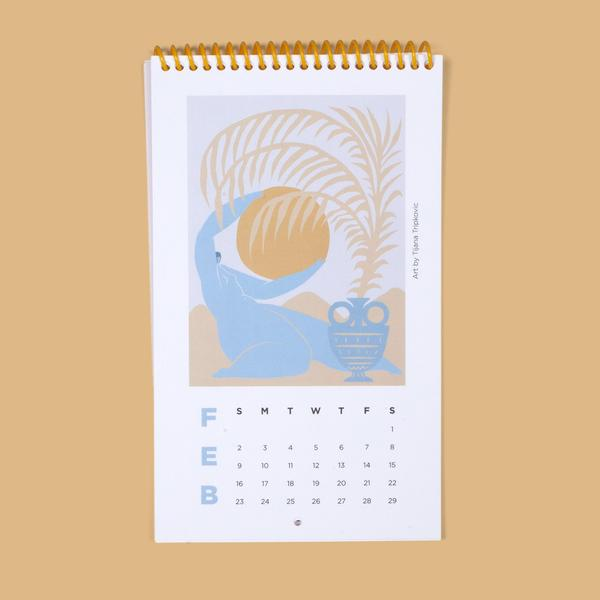 Slowdown Studio 2020 Calendar