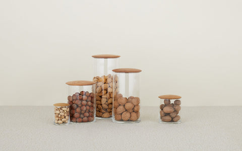 Oak Simple Storage Containers