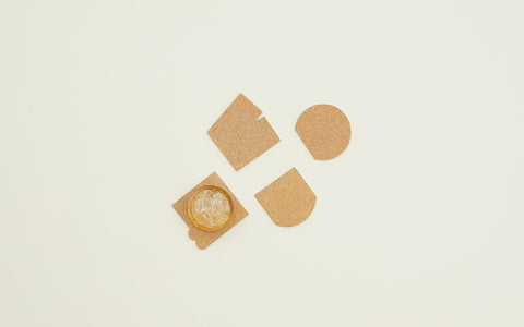 Alyson Fox Cork Coaster Set