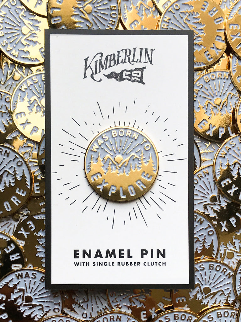 Born to Explore Pin