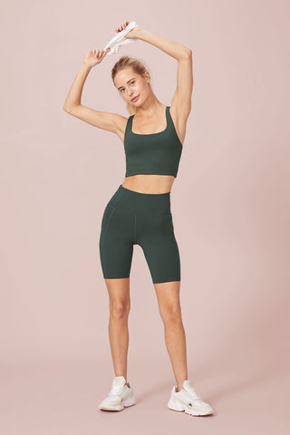 Moss High Rise Bike Shorts