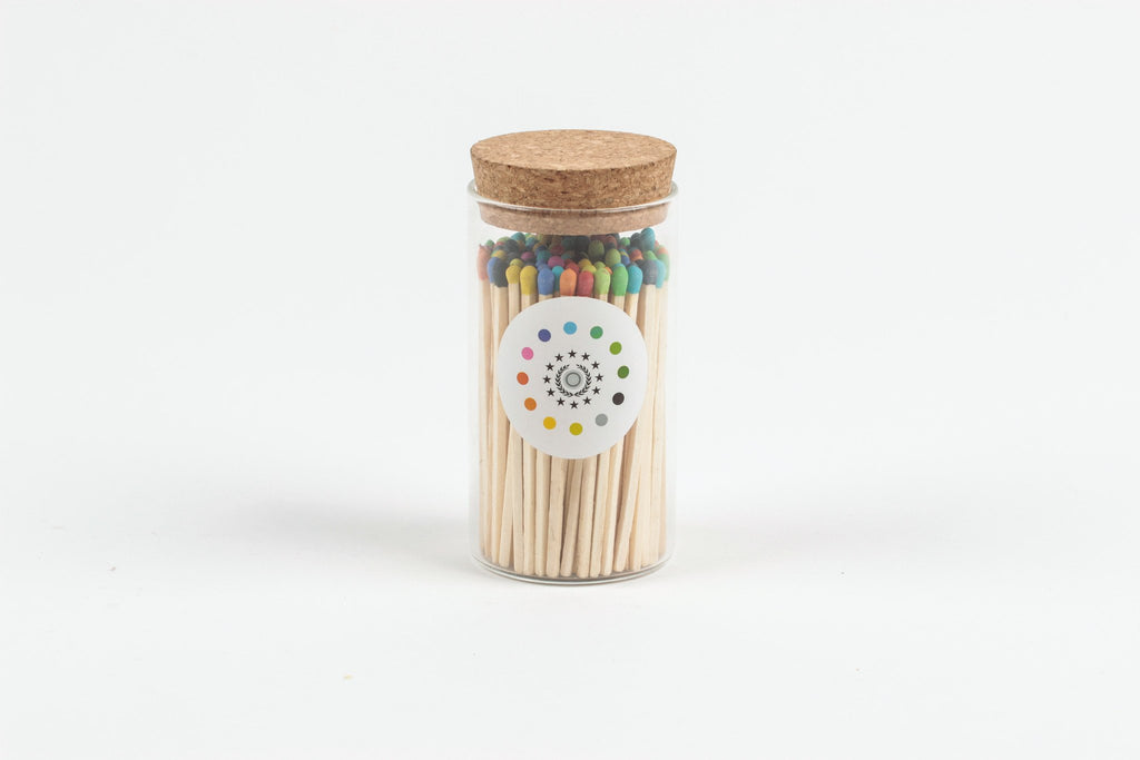 Rainbow Natural Matches