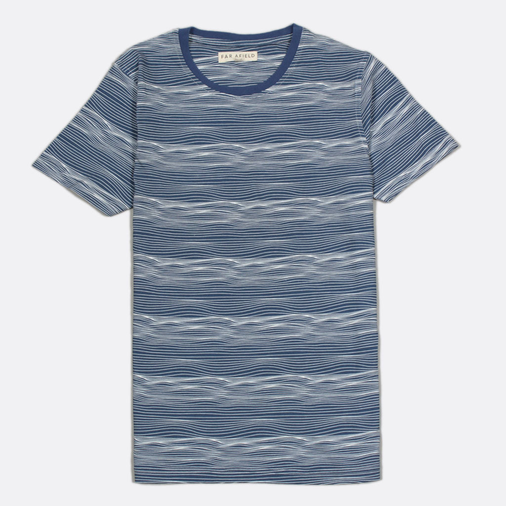 Printed T-shirt - Soundwaves