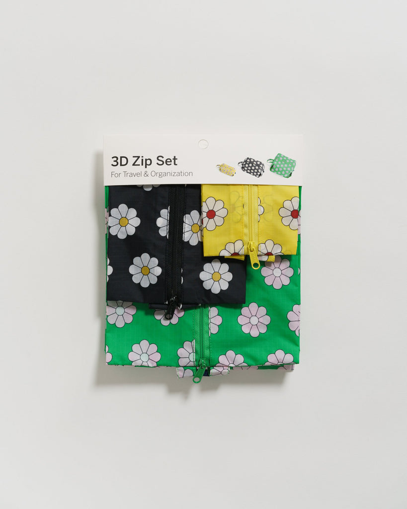 Daisy 3D Zip Set