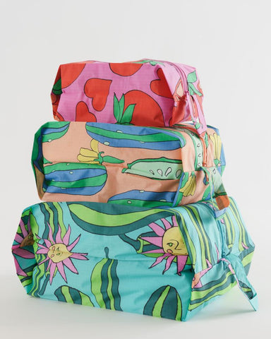 Summer Veggies 3D Zip Set