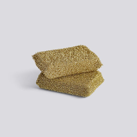Lurex Gold Sponge - Set of 2