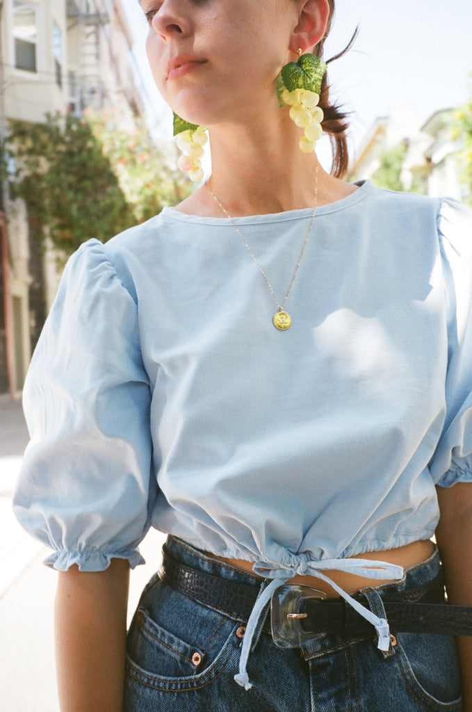 Cloud Corduroy Sadie Top