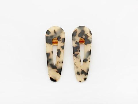 Kelly Tortoise Clip (Pair)