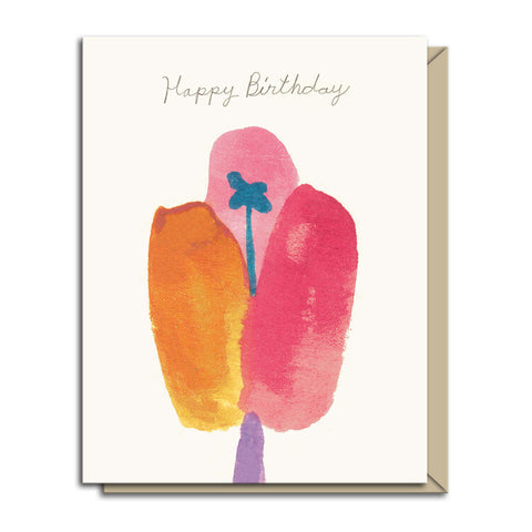 Happy Birthday Bloom Card