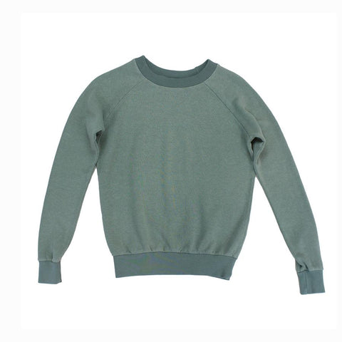 Clay Green Alpine Raglan Sweatshirt