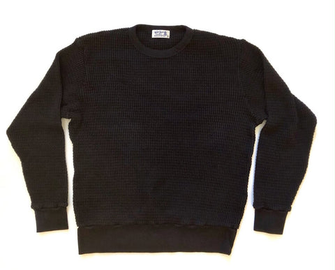 Black Heavy Thermal Sweat