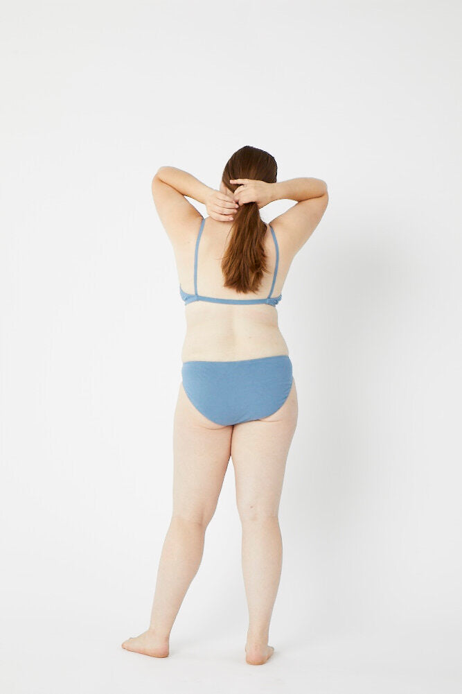 Low Rise Azul Panty