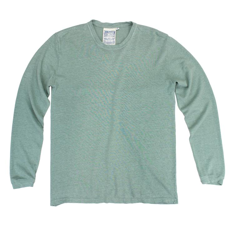 Clay Green Baja Long Sleeve Tee