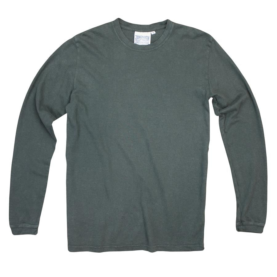 Forest Green Baja Long Sleeve Tee