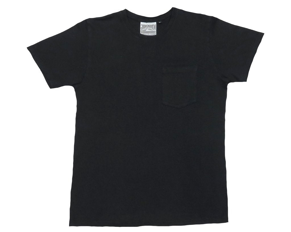 Black Baja Pocket Tee