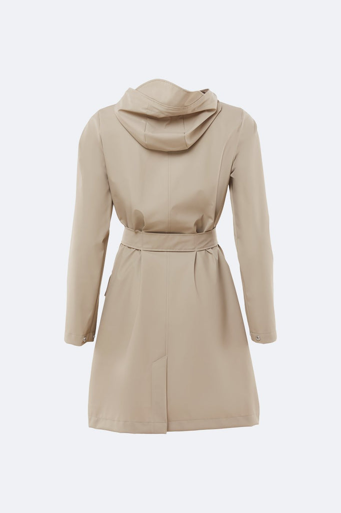 Beige Belt Jacket