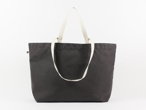 Charcoal Simple Tote
