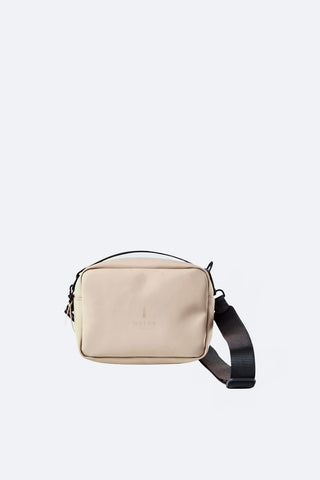 Beige Box Bag