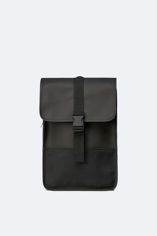 Black Buckle Mini Backpack