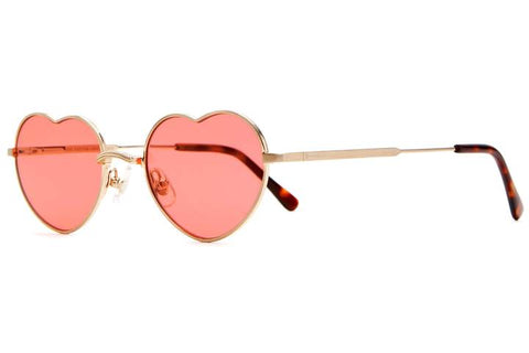 Deep Rose Doctor Love Sunglasses