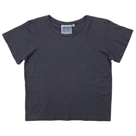 Washed Black Cropped Ojai Tee