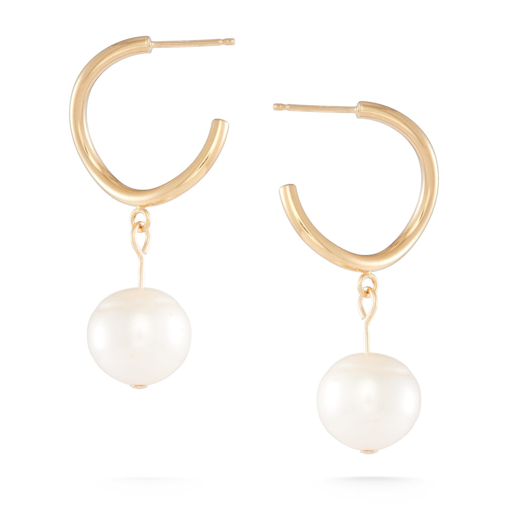 White Dew Earrings