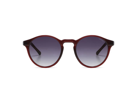 Burgundy Devon Sunglasses