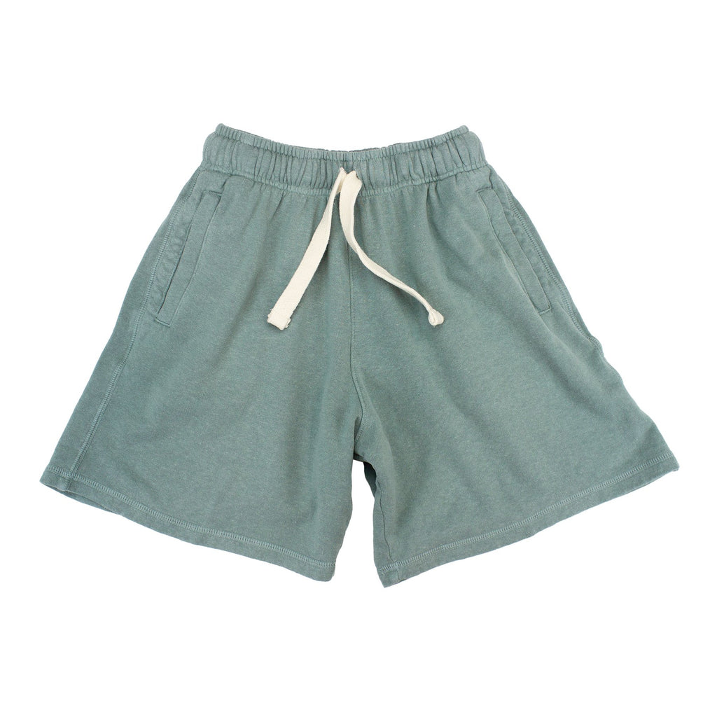 Clay Green Drawstring Shorts
