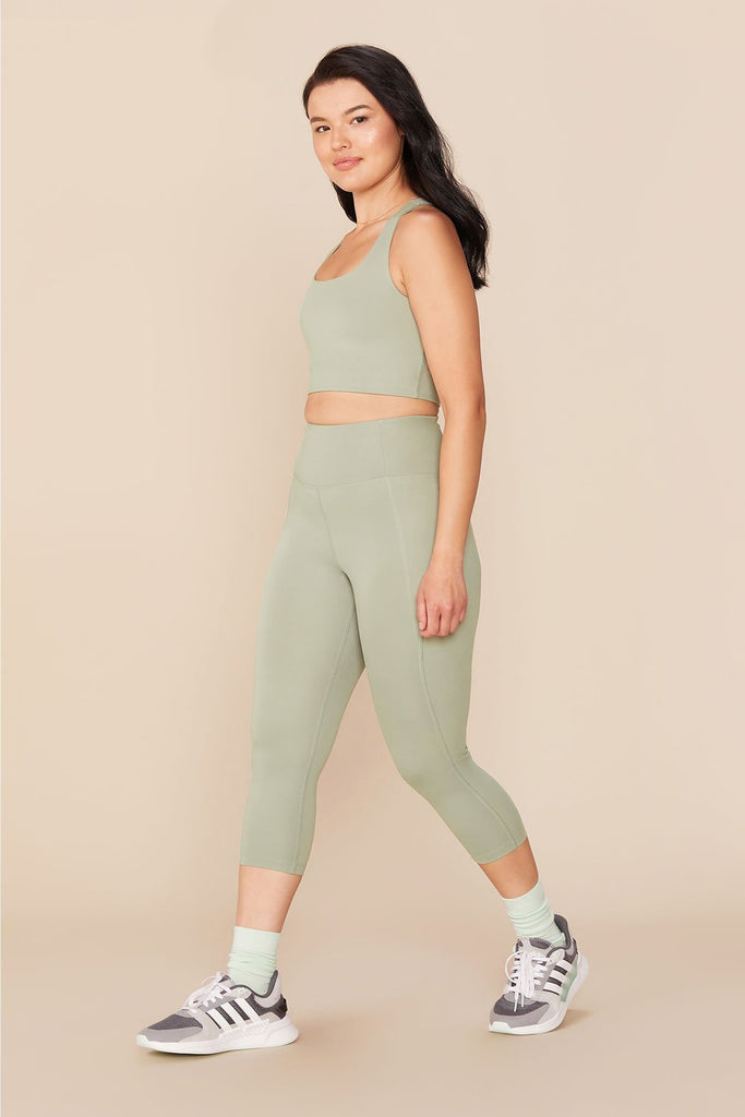 "Agave 23"" Compression High Waisted Leggings"