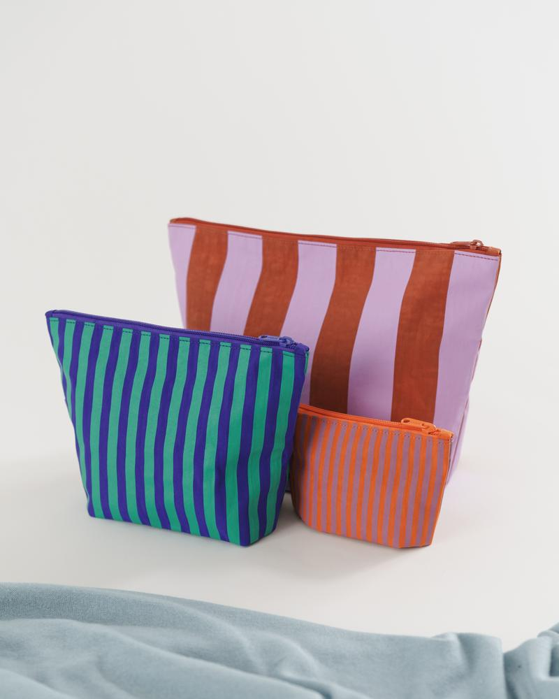 Stripe- Piazza Go Pouch Set