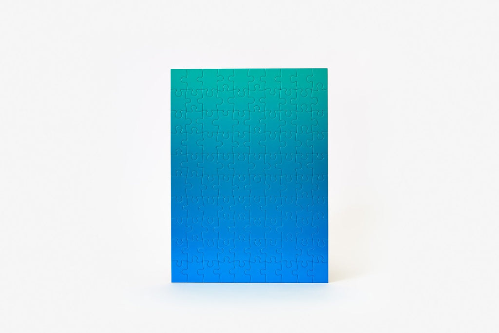 Blue Green Gradient Puzzle
