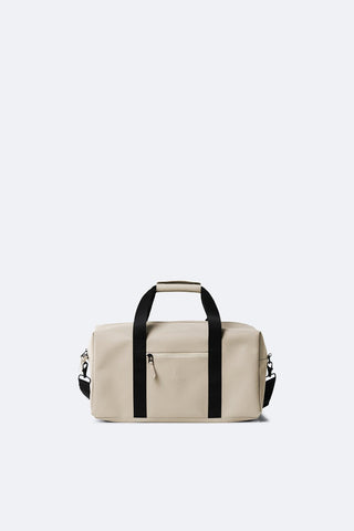 Beige Waterproof Gym Bag