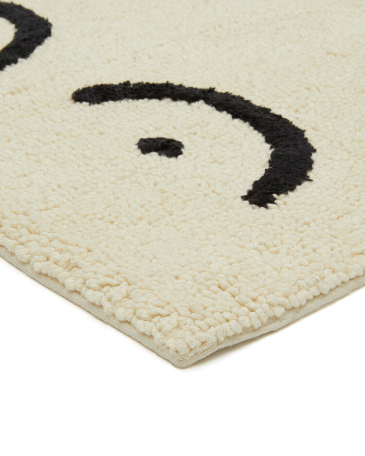Cream Torso Bathmat